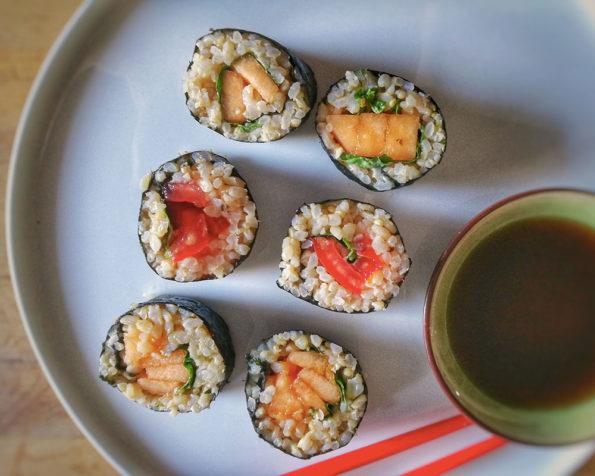 10 recettes de makis d'été