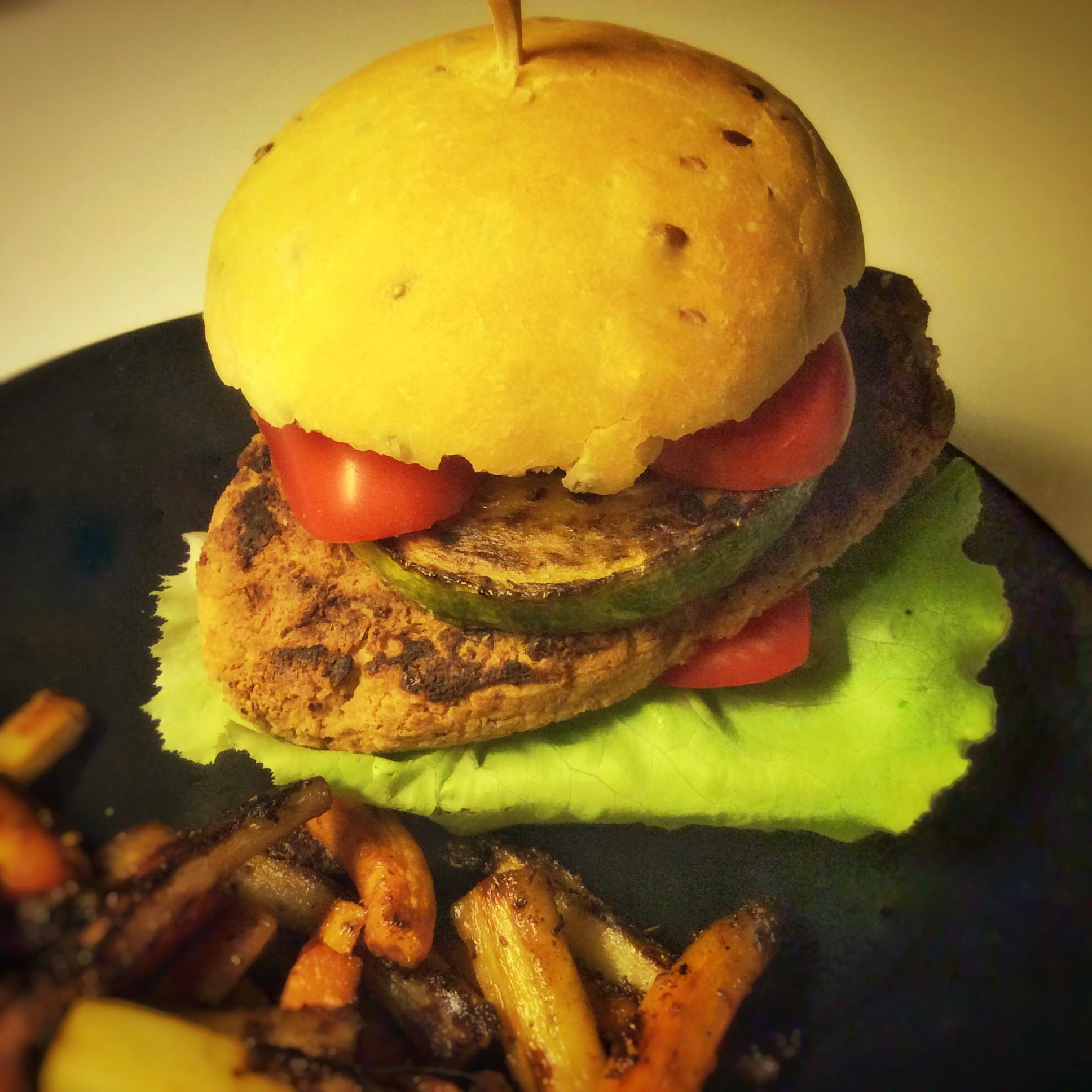 burger provençal vegan