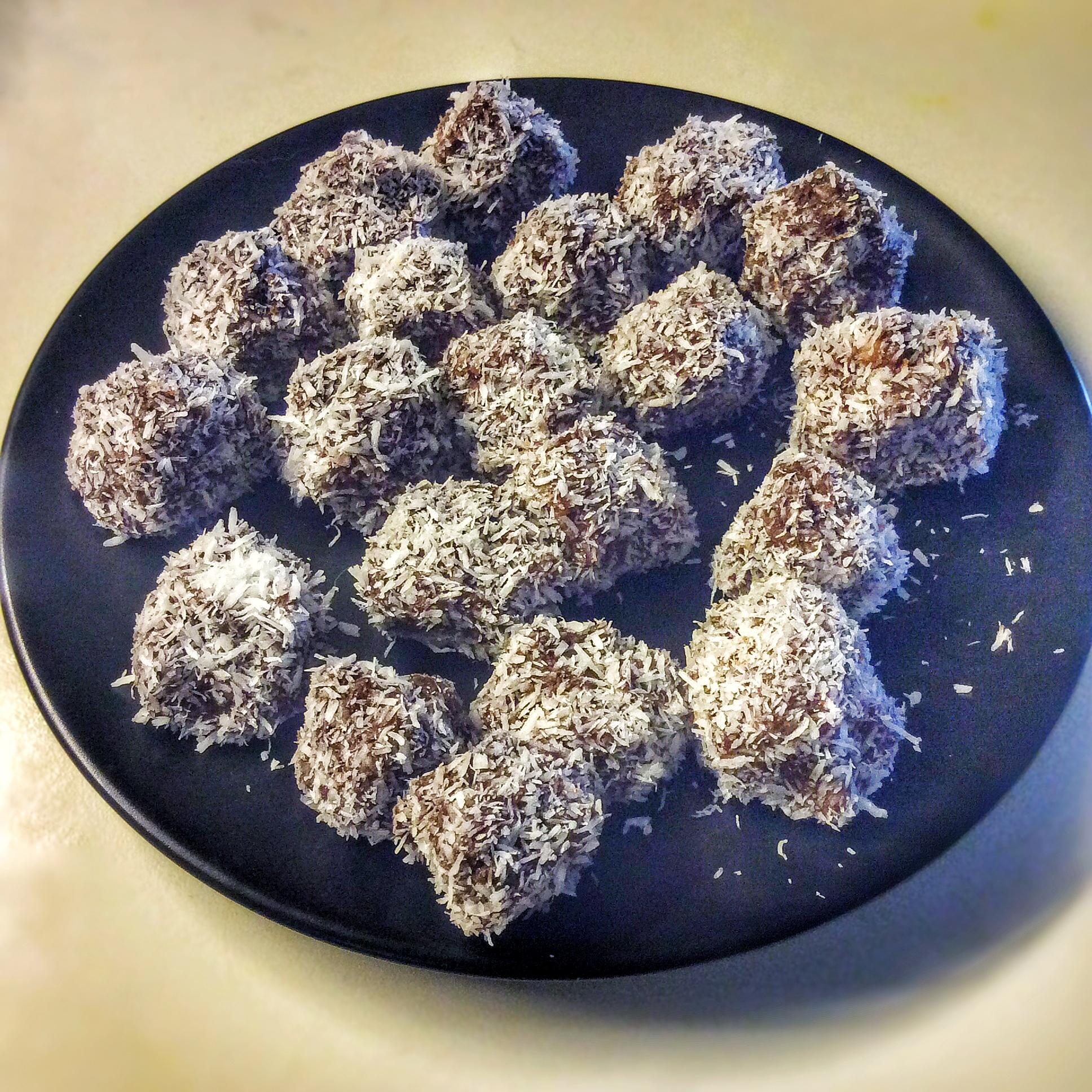Truffes crues chocolat