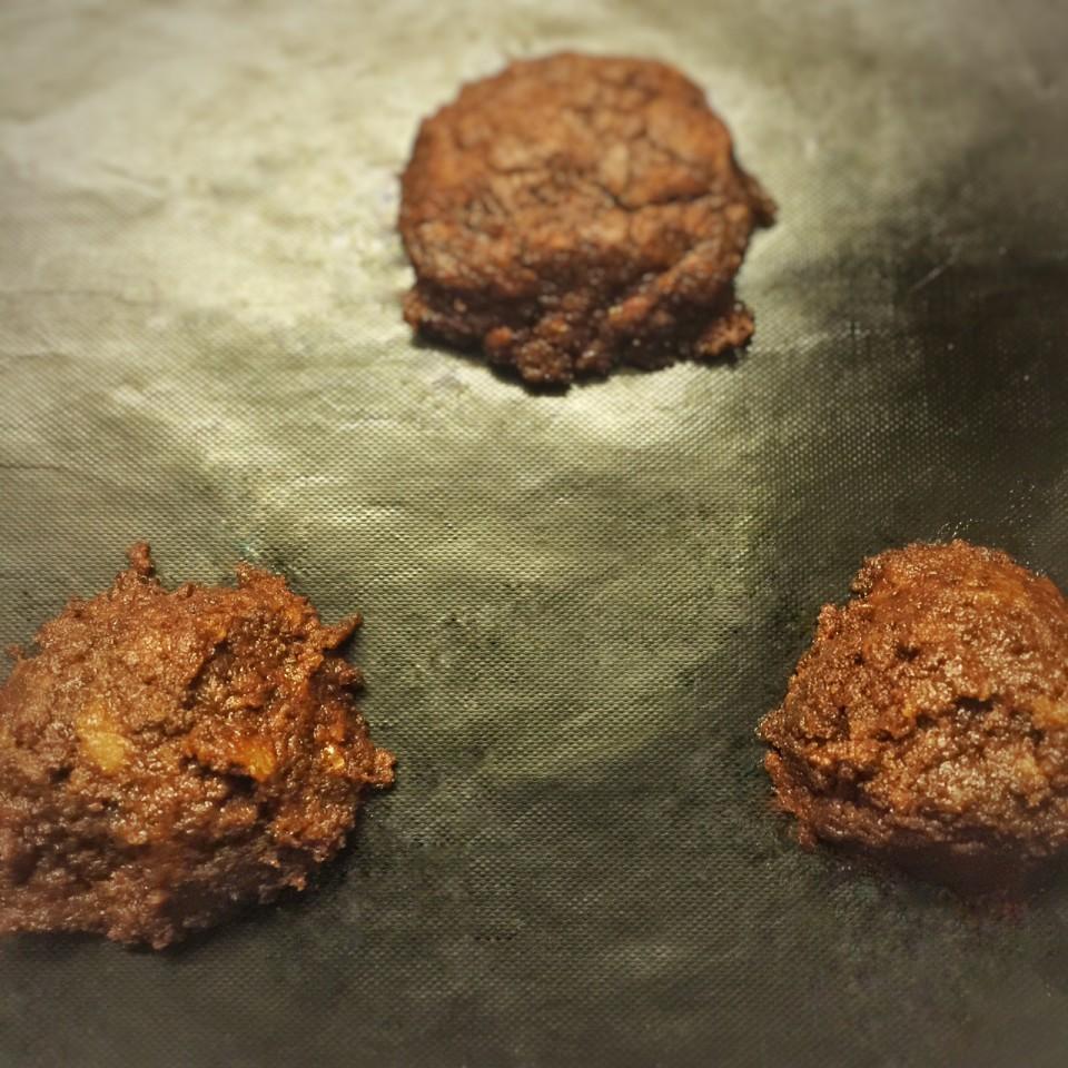 bouchées tièdes au chocolat