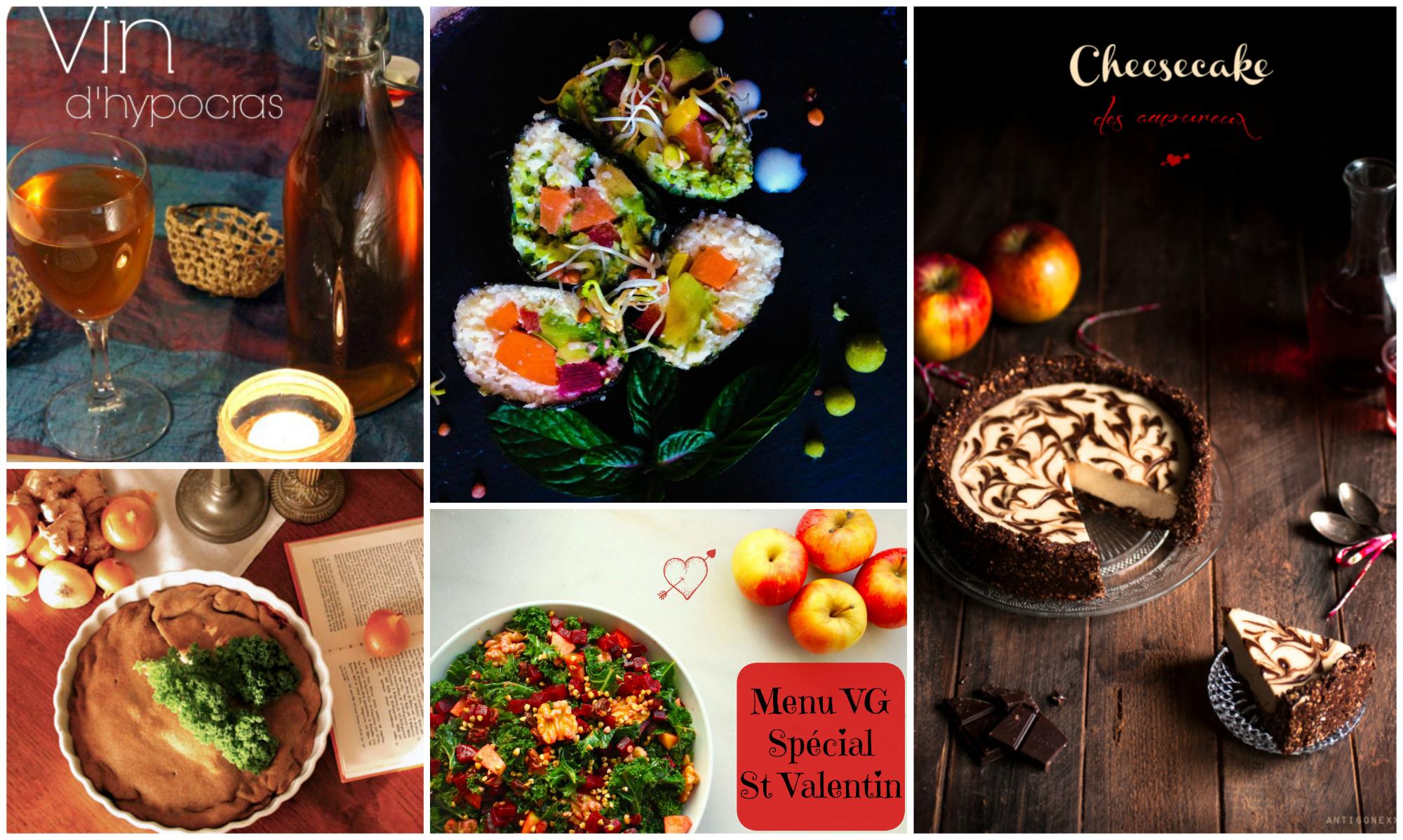 Idée Repas Pour Deux Amoureux menu vg spécial saint valentin | vegan freestyle