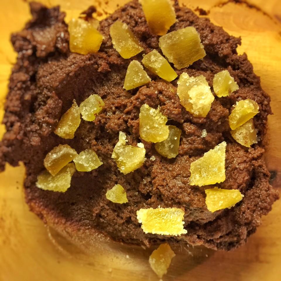 pâte choco gingembre