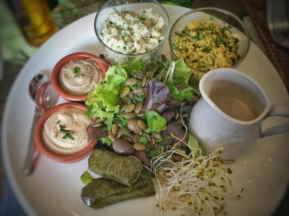 maxi salade mediterraneenne
