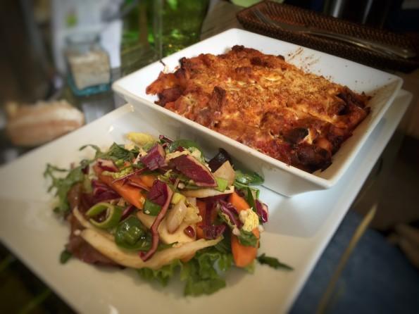 lasagnes vegetaliennes