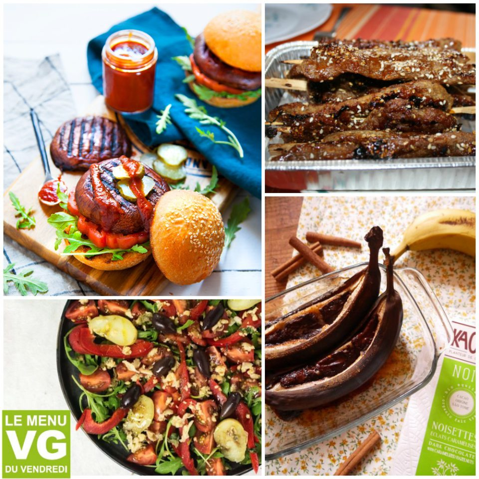 Menu VG du vendredi en mode barbecue vegan