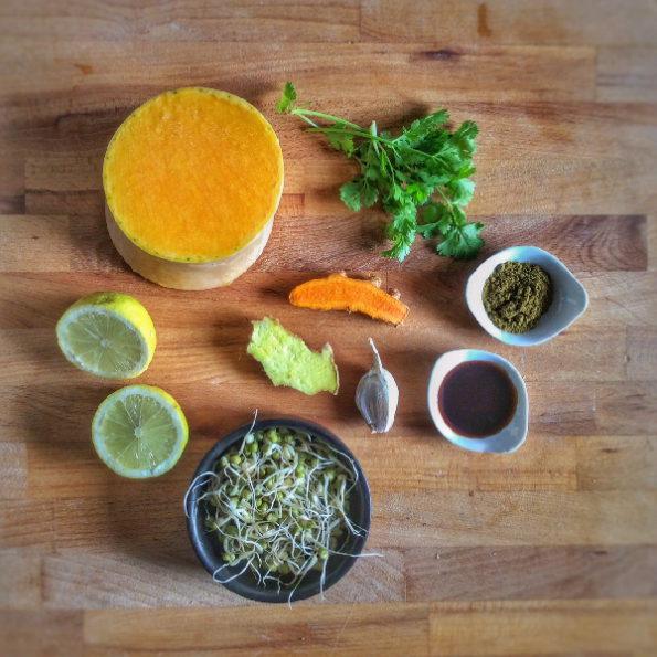 ingrédients soupe ayurvédique