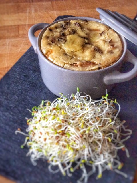 cocotte vegan champignons