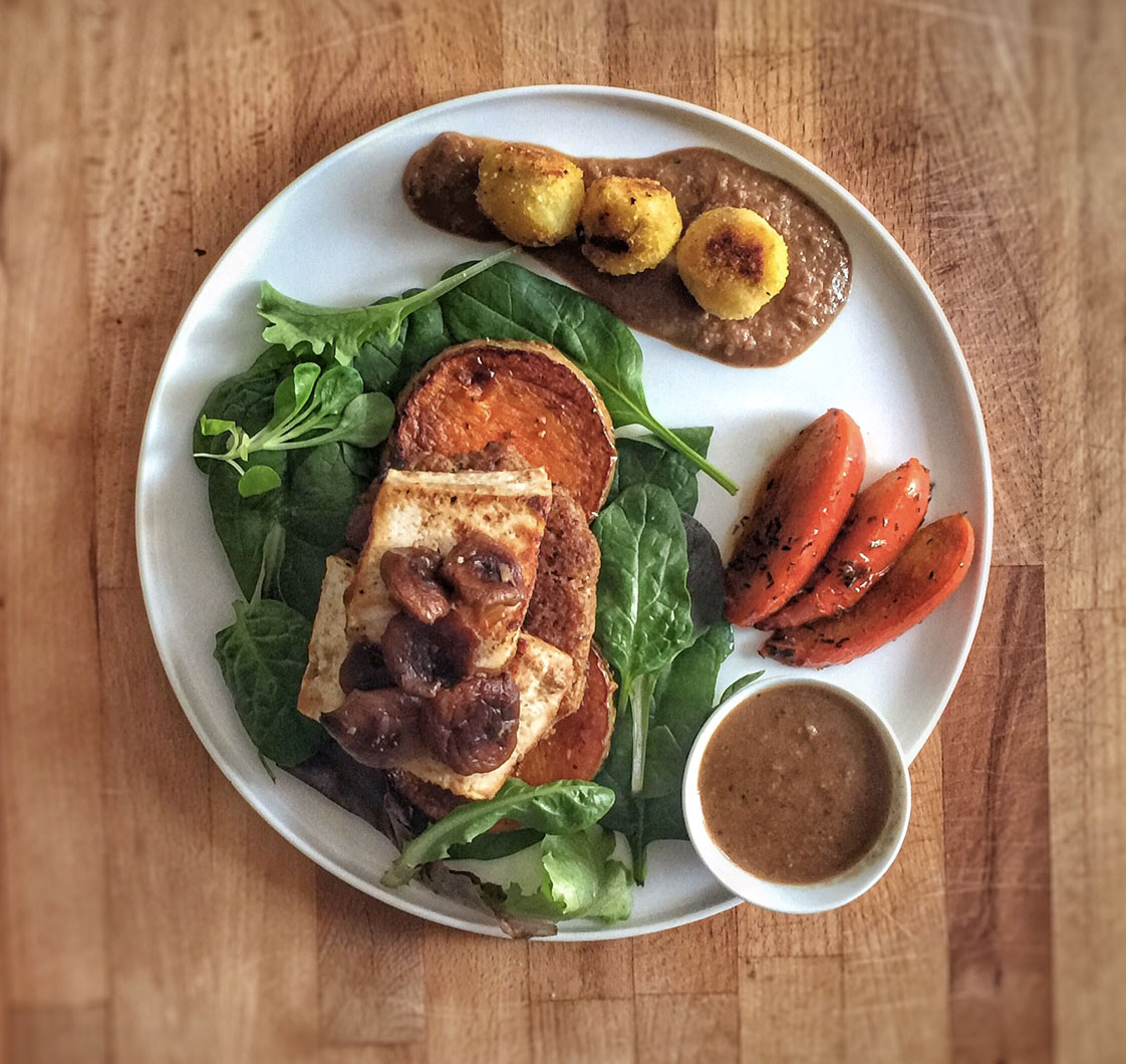 tournedos rossini vegan