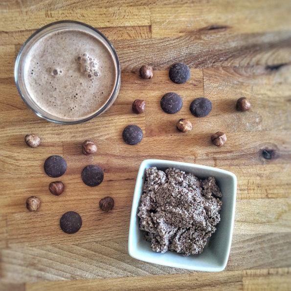 lait chocolat noisette