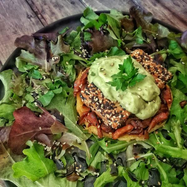 tofu benedict vegan