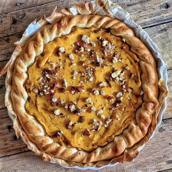 pumpkin pie vegan