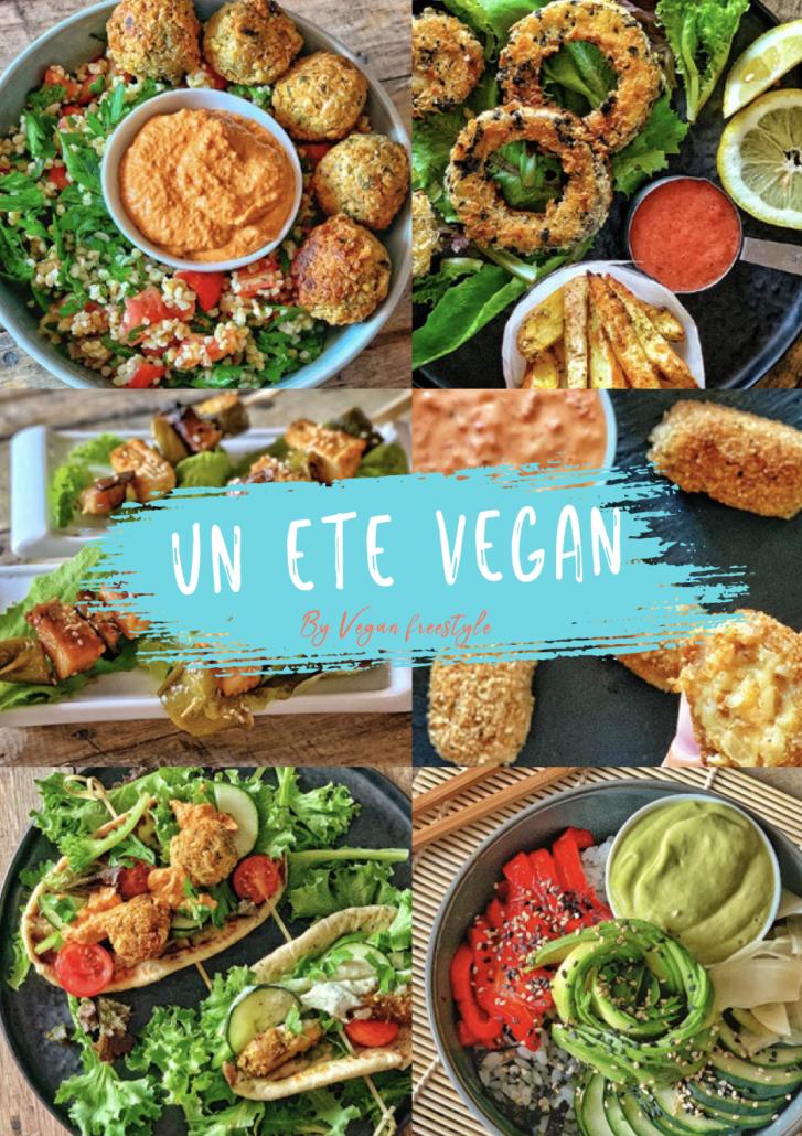 un été vegan