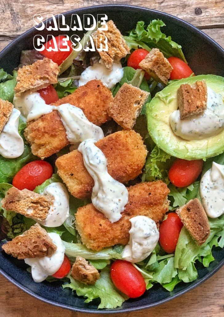 salade caesar vegan