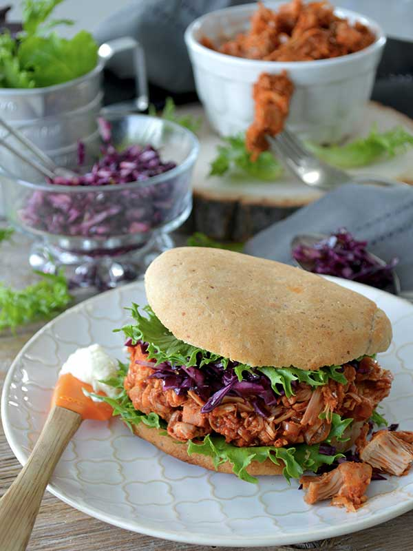 burger de jackfruit