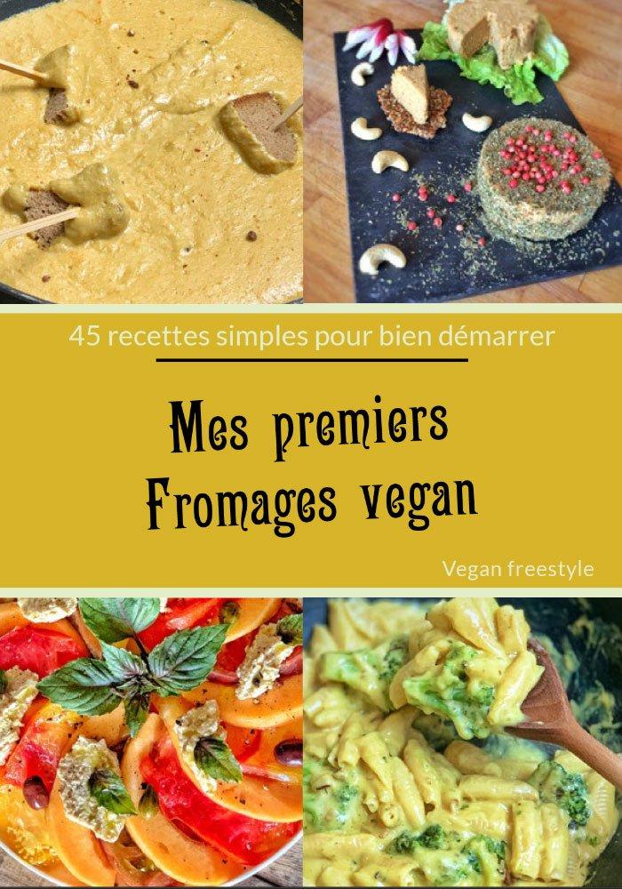 couverture mes premiers fromages vegan