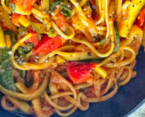 spaghetti d'estate