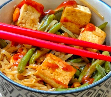 tofu sauce sriracha